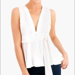 White JOA Blouse